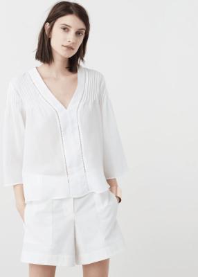 Отзыв на Хлопковая блузка из Интернет-Магазина MANGO outlet