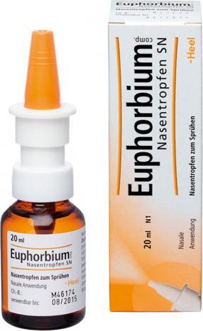 Отзыв на EUPHORBIUM COMPOSITUM Nasentr.SN Nasendosierspray 20 ml из Интернет-Магазина Best-arznei