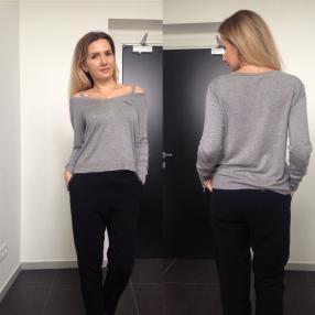 Отзыв на Пуловер с V-образным вырезом из Интернет-Магазина Zara