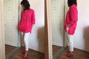 Отзыв на OVERSIZED SHIRT WITH VENTS из Интернет-Магазина Zara