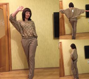 Отзыв на Блуза nude из Интернет-Магазина MANGO outlet