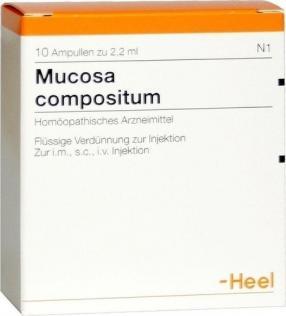 Отзыв на MUCOSA compositum Ampullen 10 St из Интернет-Магазина Best-arznei
