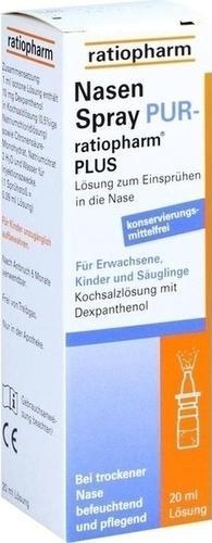 Отзыв на NASENSPRAY pur ratiopharm plus 20 ml из Интернет-Магазина Best-arznei