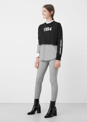 Отзыв на Узкие джинсы из Интернет-Магазина MANGO outlet