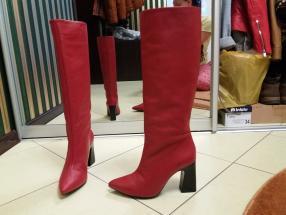 Отзыв на Шкіряні чоботи з високим из Интернет-Магазина MANGO