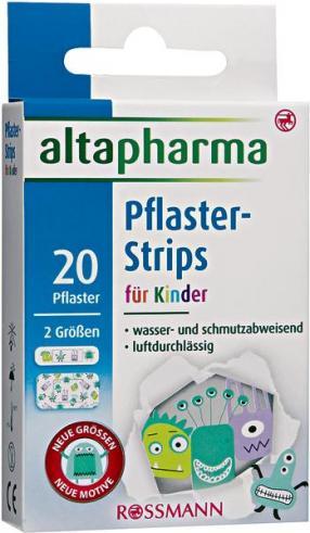 Отзыв на Altapharma Пластырь-Strips для детей из Интернет-Магазина ROSSMANN