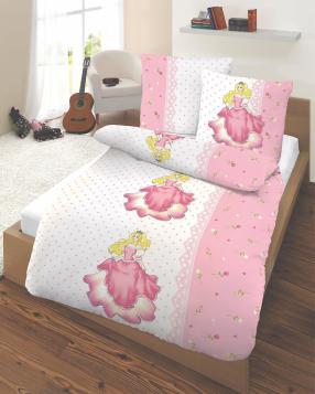 Детское постельное белье Принцесса, Усиленный, 135 Икс 200 см