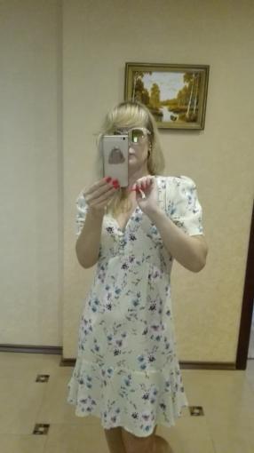 Платье с Blumendessin Ссылка. 81017601