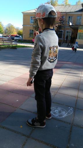 LUPILU® для мальчика малыша Колледж куртка