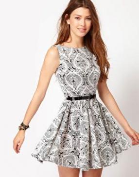 Отзыв на Клуб L – Платье с Обои для стен из Интернет-Магазина Asos