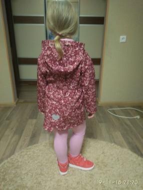 Для девочки лыжная курточка с Единорог-Мотивами