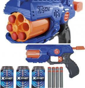 PLAYTIVE® 100 Softdarts / XShot-Pistole