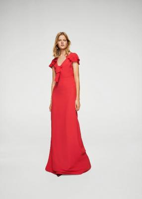 Длинное платье с петлей Ссылка. 11015035-ANASTIA-А-ЛМ
