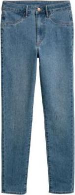 Узкие джинсы по щиколотку