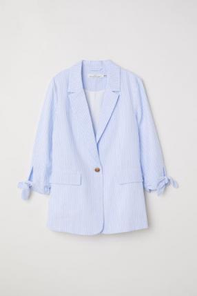 Пиджак с Полосатые