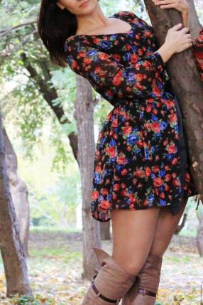 Отзыв на Rare – Платье с цветочным принтом с поясом из Интернет-Магазина Asos