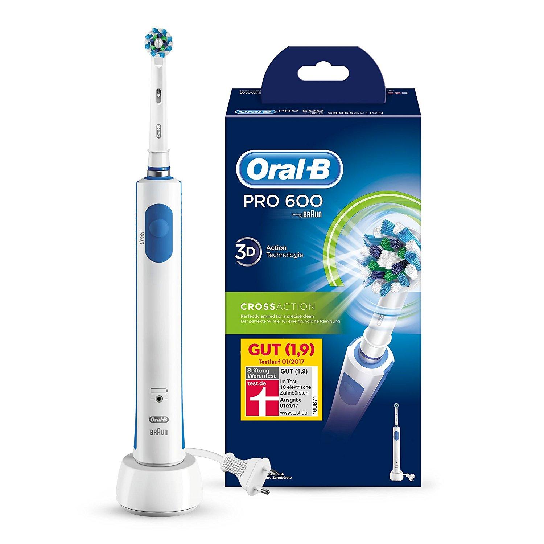 Лучшие электрические зубные щетки Oral-B скидка 54% из магазина Amazon (Германия)
