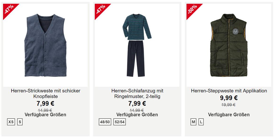 При заказе от 25 € Доп. скидка до 20% из магазина NKD (Германия)