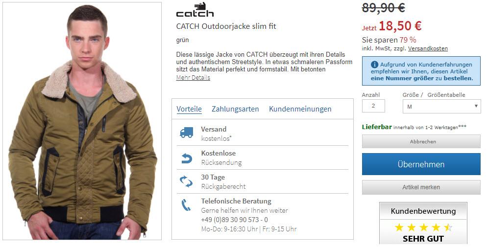 Мужская одежда бесплатный шип Доп. скидка 20% из магазина Oboy (Германия)