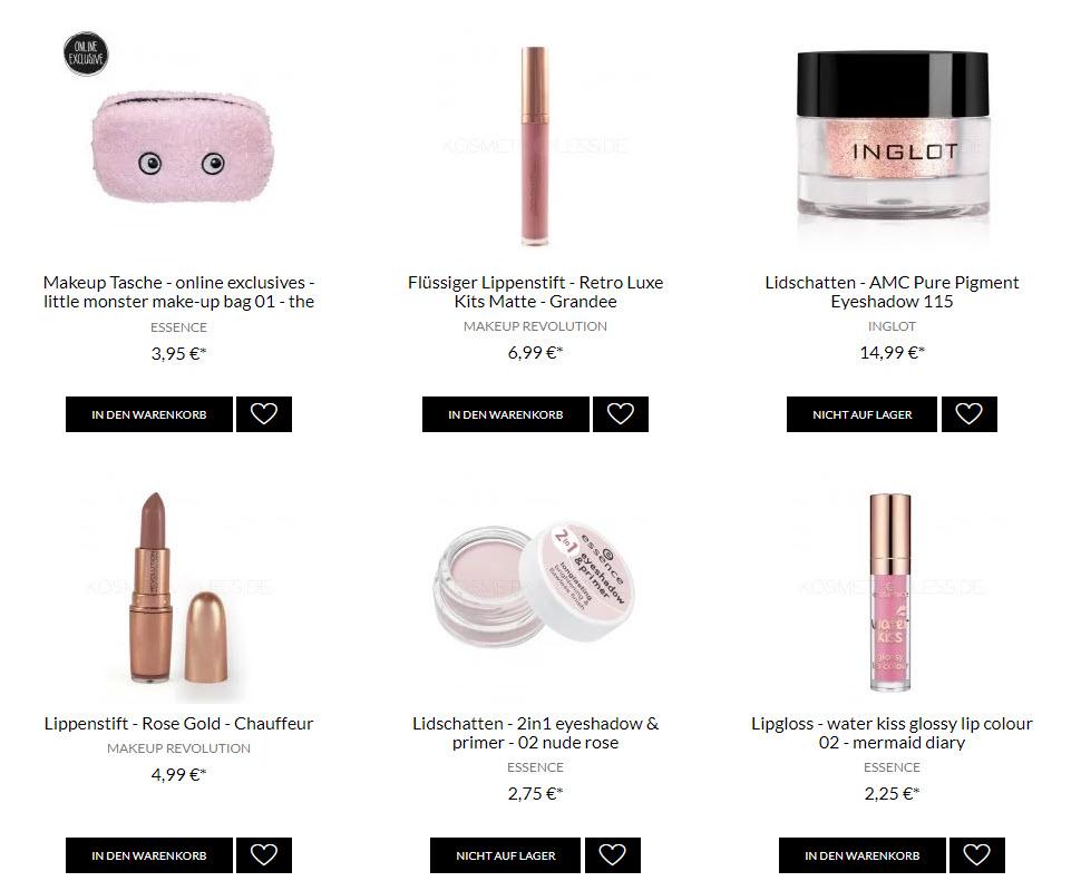 На оттенки розового Доп. скидка 20% из магазина Kosmetik4less (Германия)
