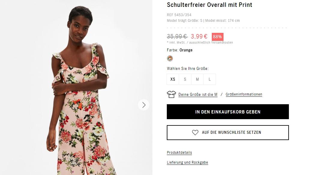 Скрытые SALE товары от 12.03 скидки до 86% из магазина Bershka (Германия)