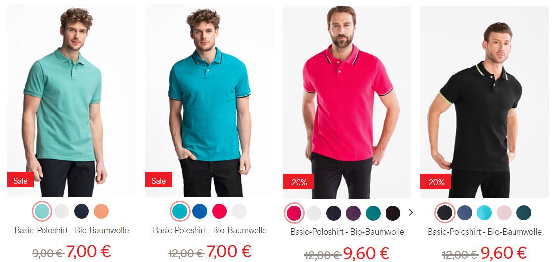 Рубашки для мужчин скидка 20% из магазина C&A (Германия)