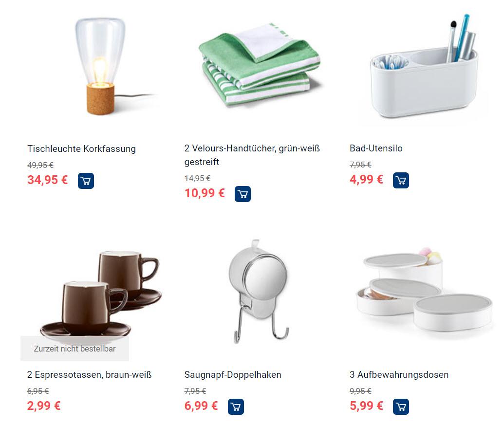 Для дома и семьи скидки до 70% из магазина Tchibo (Германия)
