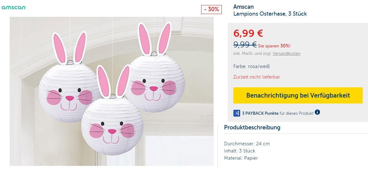 Бумажные 3D декорации к пасхе скидки до 30% из магазина MyToys (Германия)