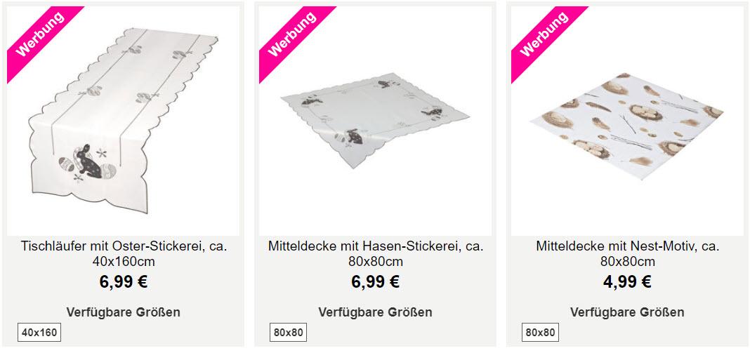 На пасхальные предметы Доп. скидка 30% из магазина NKD (Германия)