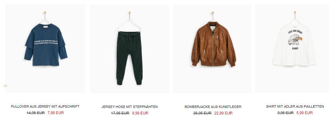 Детская одежда скидки до 40% из магазина Zara (Германия)