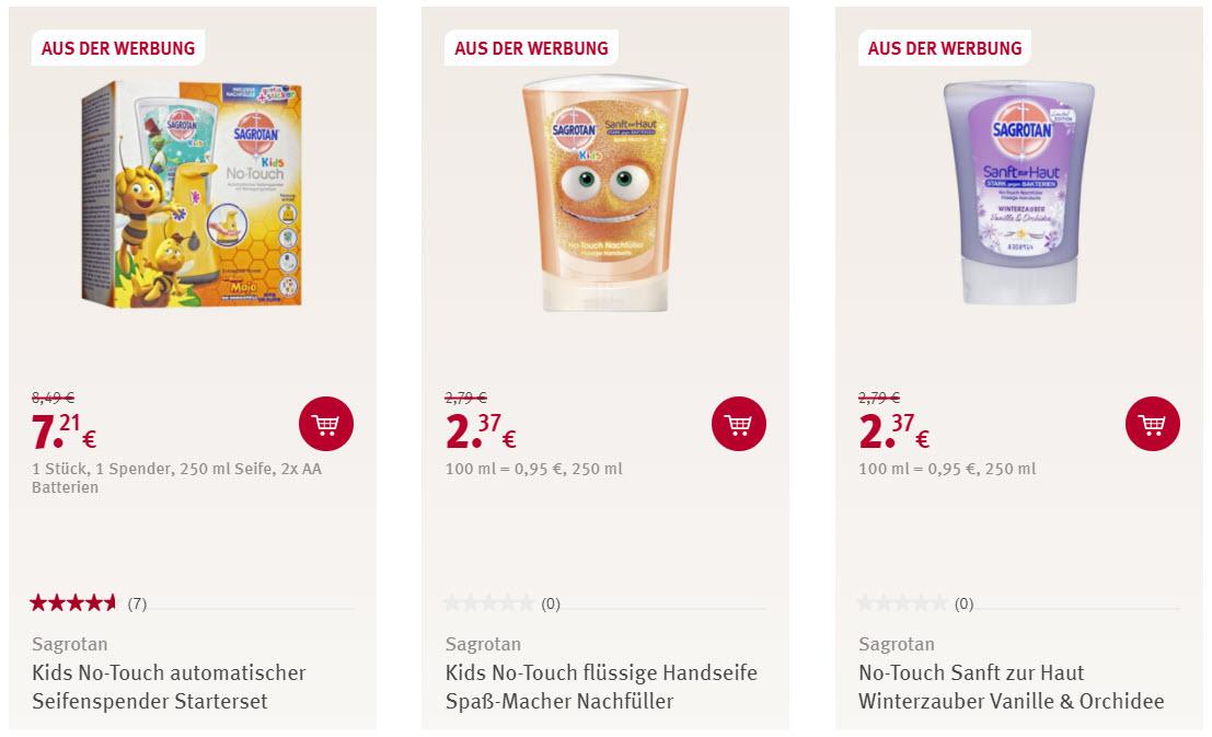 Чистящие средства Sagrotan скидка 15% из магазина ROSSMANN (Германия)