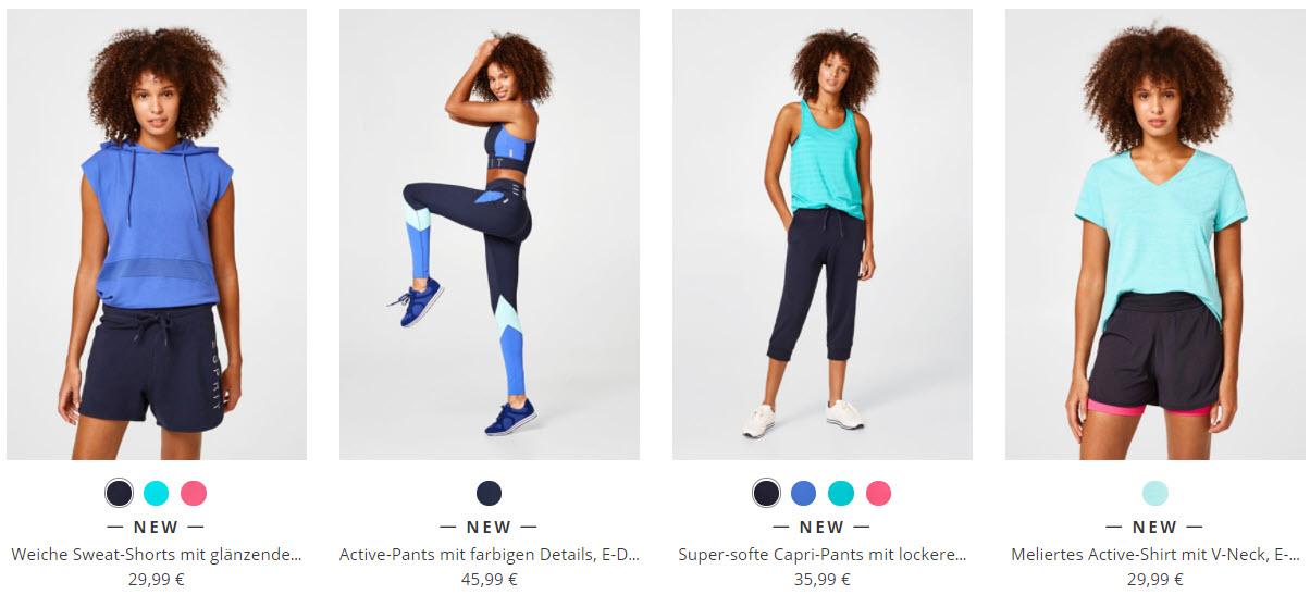 Одежда для фитнеса Доп. скидка 15% из магазина ESPRIT (Германия)