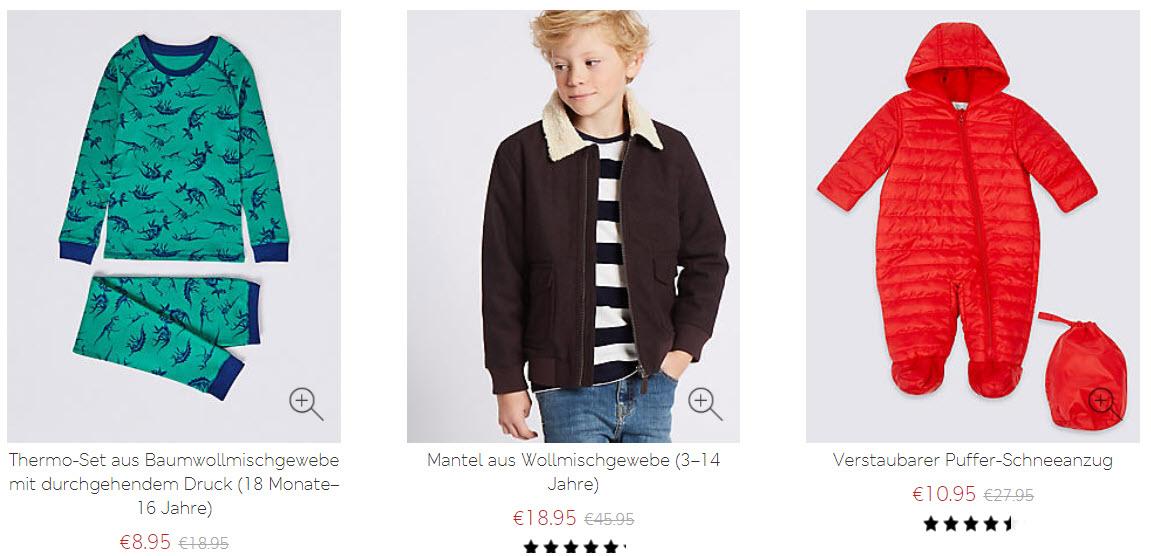 Детская одежда скидки до 60% из магазина Marks & Spencer (Германия)