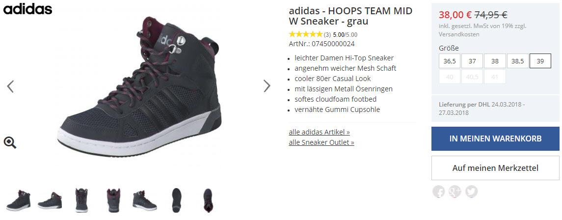 На всю обувь дополнительно Доп. скидка 20% из магазина Schuhcenter (Германия)