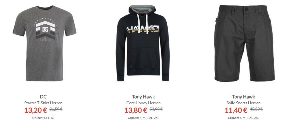 Одежда для скейтбординга и роликовых коньков скидки до 90% из магазина Sports Direct (Германия)