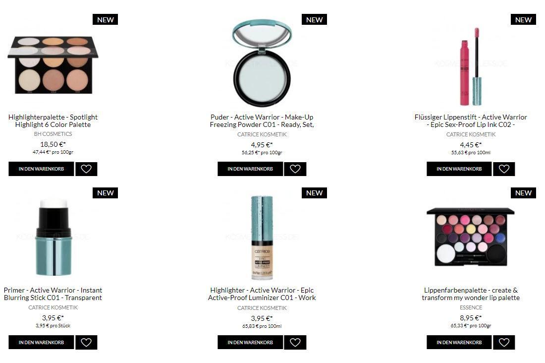 Профессиональная косметика, бесплатный шип скидки до 70% из магазина Kosmetik4less (Германия)
