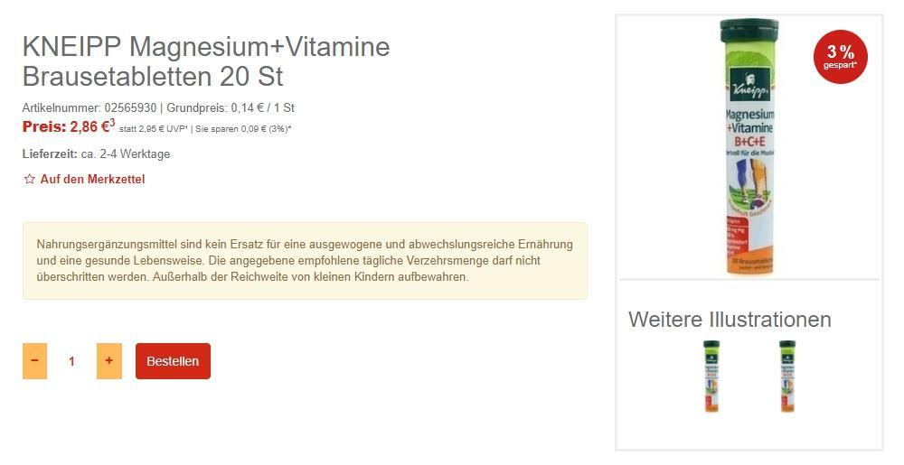 Витамины Скидки до 40% из магазина Best-arznei (Германия)