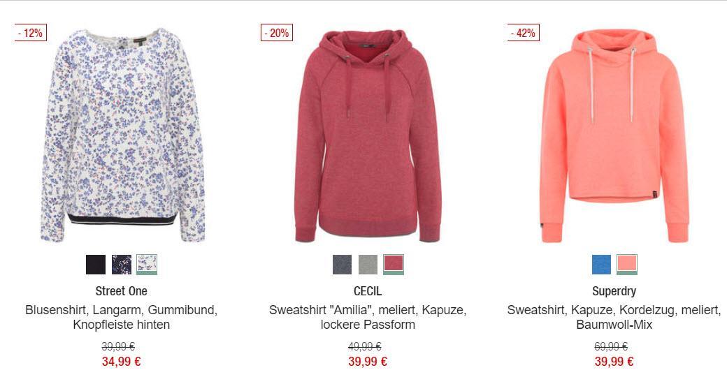 Женская одежда и обувь скидки до 50% из магазина GALERIA (Германия)