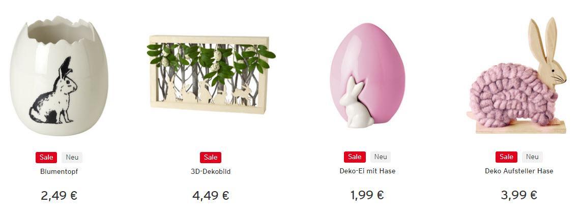 На  бижутерию и пасхальный декор Доп. скидка 20% из магазина Ernstings family (Германия)