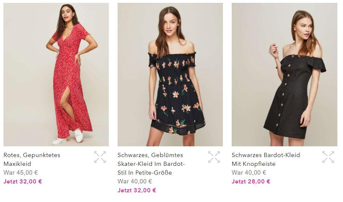 Стильные платья скидки до 30% из магазина Miss Selfridge (Германия)