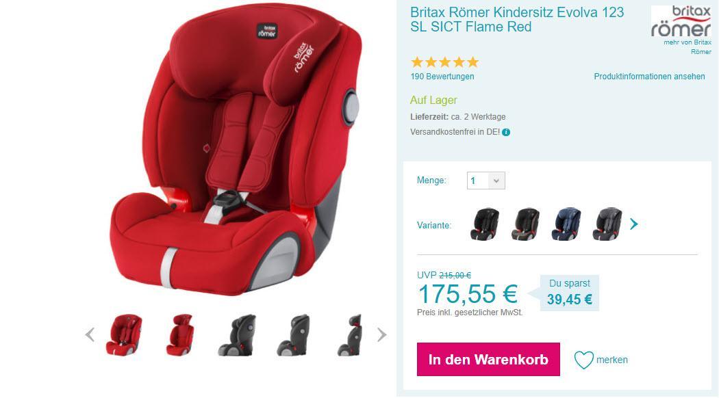 Детские автокресла и велокресла скидки до 40% из магазина Baby-Markt (Германия)