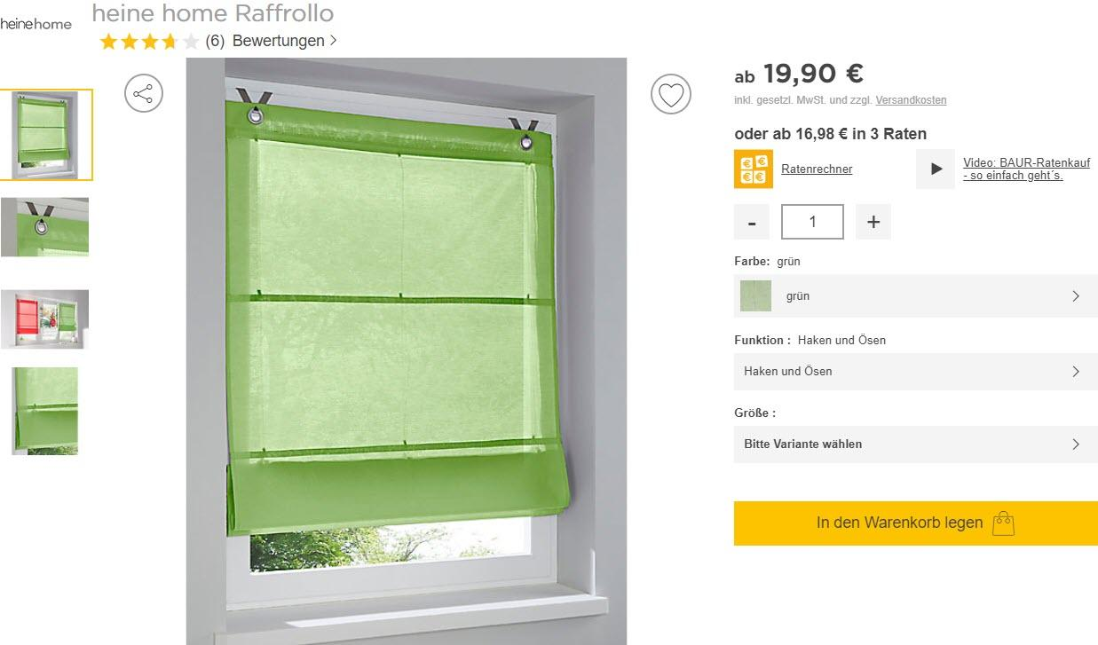 Текстиль для дома Доп. скидка 10% из магазина Baur (Германия)