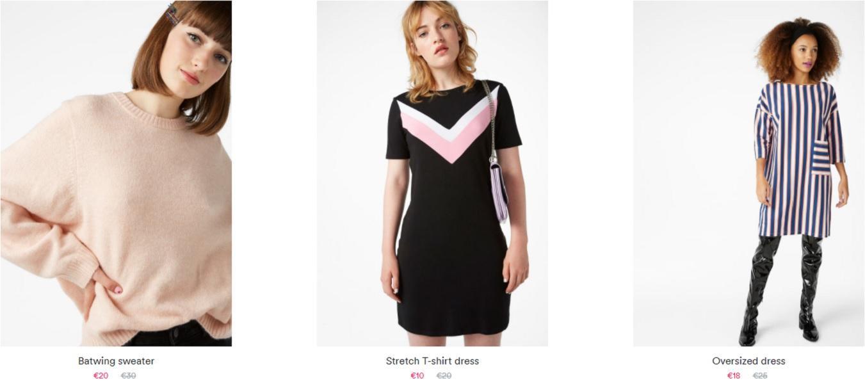 Женская одежда и аксессуары скидки до 85% из магазина MONKI (Германия)