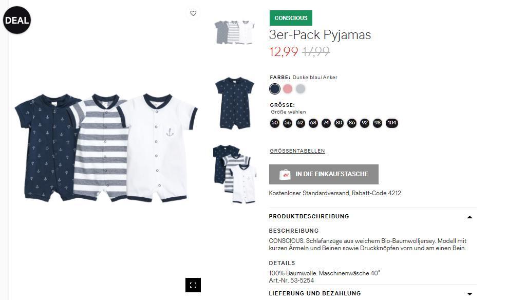 К Пасхе на 1000 товаров, сегодня заканчиваются Скидки до 50% из магазина H&M (Германия)