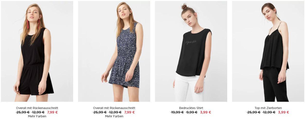 Распродажа женской одежды скидки до 80% из магазина MANGO Outlet (Германия)