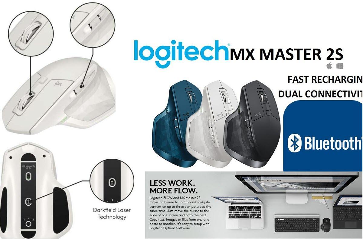 Беспроводная мышь Logitech MX Master 2S  скидка 46% из магазина Amazon (Германия)