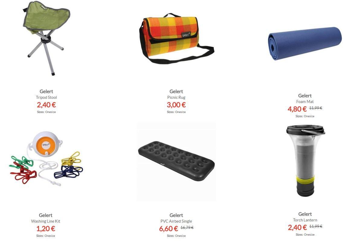Товары для отдыха на природе Скидки до 90% из магазина Sports Direct (Германия)