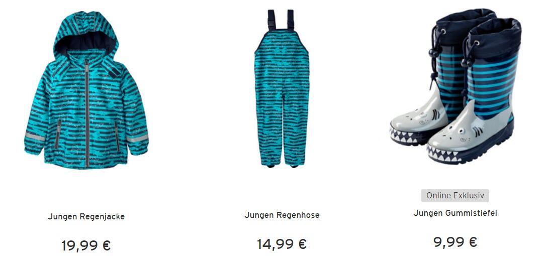 Детская водонепроницаемая одежда Доп. скидка 20% из магазина Ernstings family (Германия)
