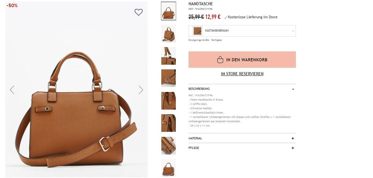 Весенняя распродажа одежды и аксессуаров скидки до 50% из магазина Pimkie (Германия)