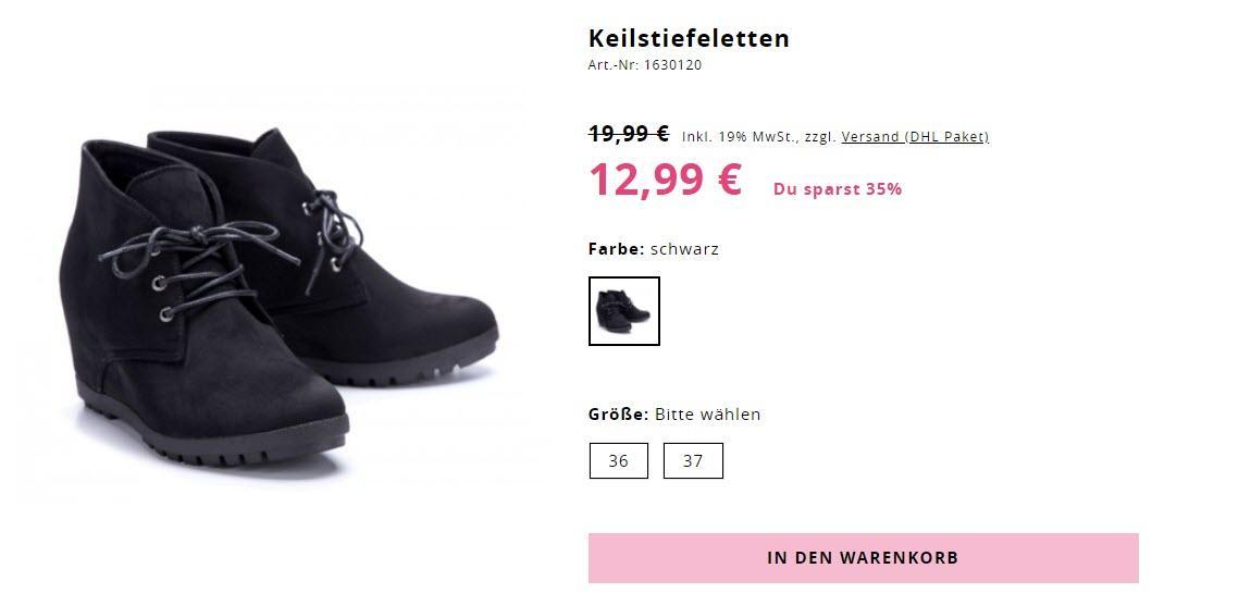 Женская обувь скидки до 66% из магазина SchuhTempel24 (Германия)